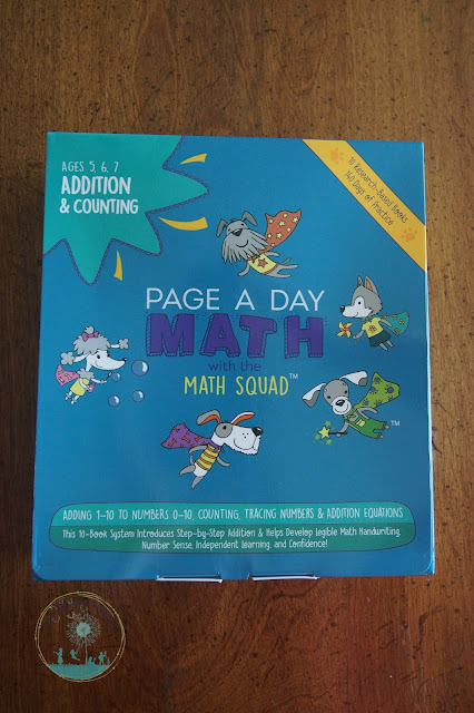 Page A Day Addition and Counting Kit