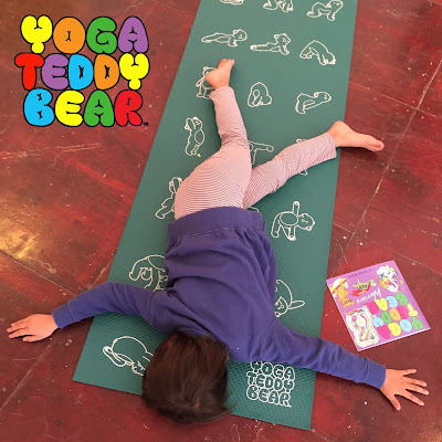 kids yoga, children's yoga, Fallen Warrior, Dying Warrior, Yoga Pose, Yoga Ed, Yoga Teddy Bear, yogateddybear, yogateddybeartv, yogaed, yoga education, Parivrtta Virabhadrasana, twist, yoga twist