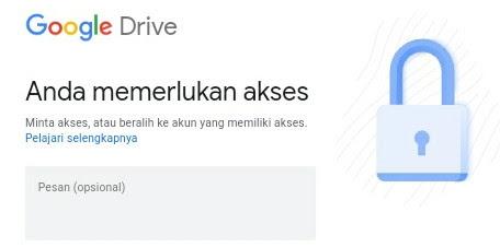 Cara Agar Google Drive Tidak Perlu Izin Dan Bisa Di Akses Secara Publik Blog Dimas