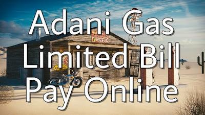 Adani Gas Limited Bill Pay Online