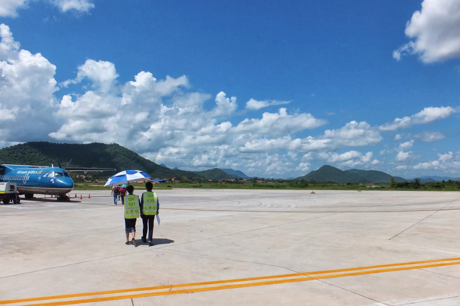 LuangPrabang-Airport ルアンパバーン空港3