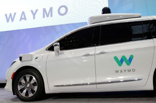 Waymo unveils a self-driving Chrysler Pacifica minivan during the North American International Auto Show in Detroit, Michigan, U.S., January 8, 2017. (Credit: Reuters/Brendan McDermid/File Photo) Click to Enlarge.