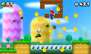New Super Mario Bros. 2 Gold Edition screenshot 3
