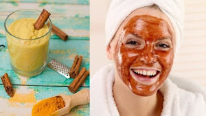 Turmeric Face Mask Recipe For Glowing Skin, Acne, Rosacea, Eczema & Dark Circles!!!