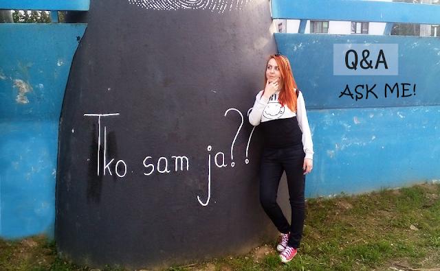tko sam ja, pitanja i odgovori, ivana mihalić, blogerica, ivy, whatsupivy, what's up ivy, tko je ivana mihalić, about me, q&a, o meni, proljetna playlista, nirvana girl, redhead. ginger, cool, koprivnica, grafiti