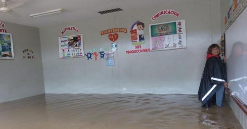Suspenden clases escolares en 14 colegios de Picota en la región San Martín