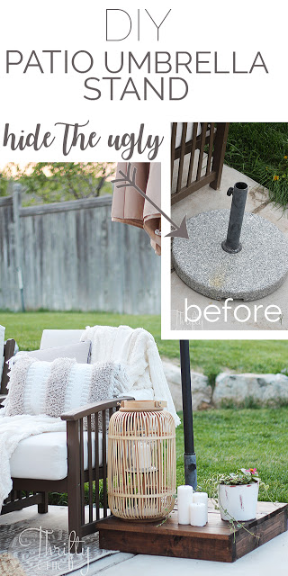 http://www.thriftyandchic.com/2019/05/diy-patio-umbrella-stand-hide-ugly.html