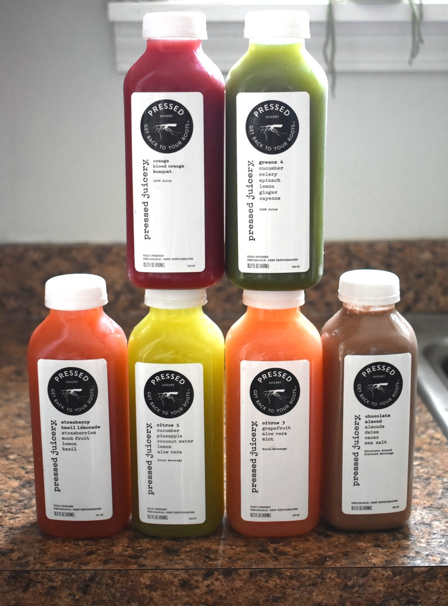 Pressed Juicery juices