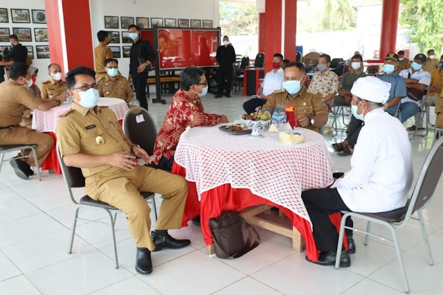 Kuatkan Persatuan dan Kesatuan, Nanang Ermanto Lakukan Silaturahmi Bersama Umat Sedarma Se-Lampung Selatan