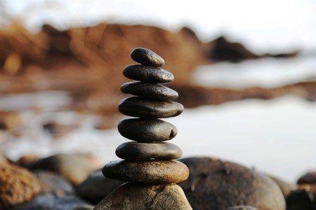 batu, seimbang