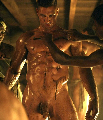 james wells spartacus naked