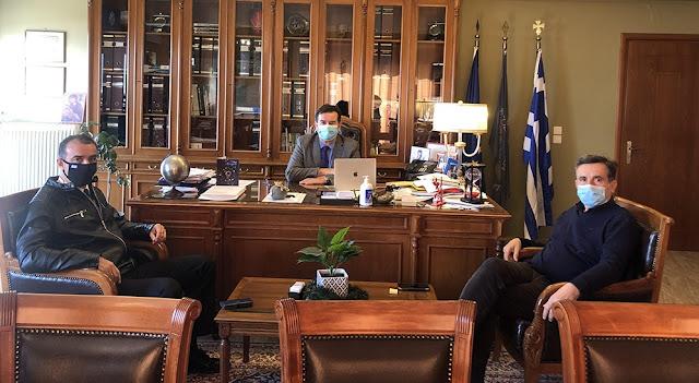 Τι συζήτησαν με τον Αντιπεριφερειάρχη Αργολίδας, ο Λιμενάρχης Ναυπλίου και ο πρόεδρος του Λιμενικού Ταμείου