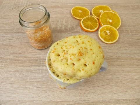 Ragacsos és mennyei: ötperces bögrés narancsos süti, amivel nincs semmi macera