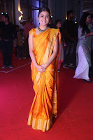 Shalini Pandey in Beautiful Orange Saree Sleeveless Blouse Choli ~  Exclusive Celebrities Galleries 044.JPG