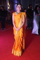 Shalini Pandey in Beautiful Orange Saree Sleeveless Blouse Choli ~  Exclusive Celebrities Galleries 044.JPG
