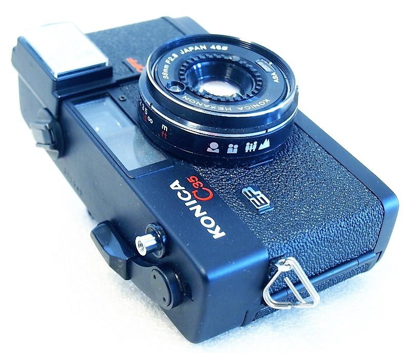 Konica C35 EF 35mm Compact Camera