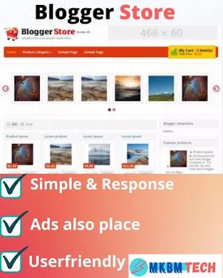 Amazon Affiliate Blogger Template free