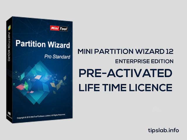Mini Partition Wizard 12 Enterprise Pre-Activated Free Download