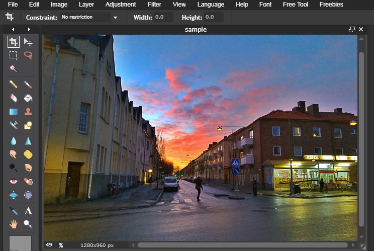 Cara edit foto HDR online