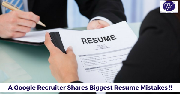 a google recruiter shares biggest resume mistakes morpheus