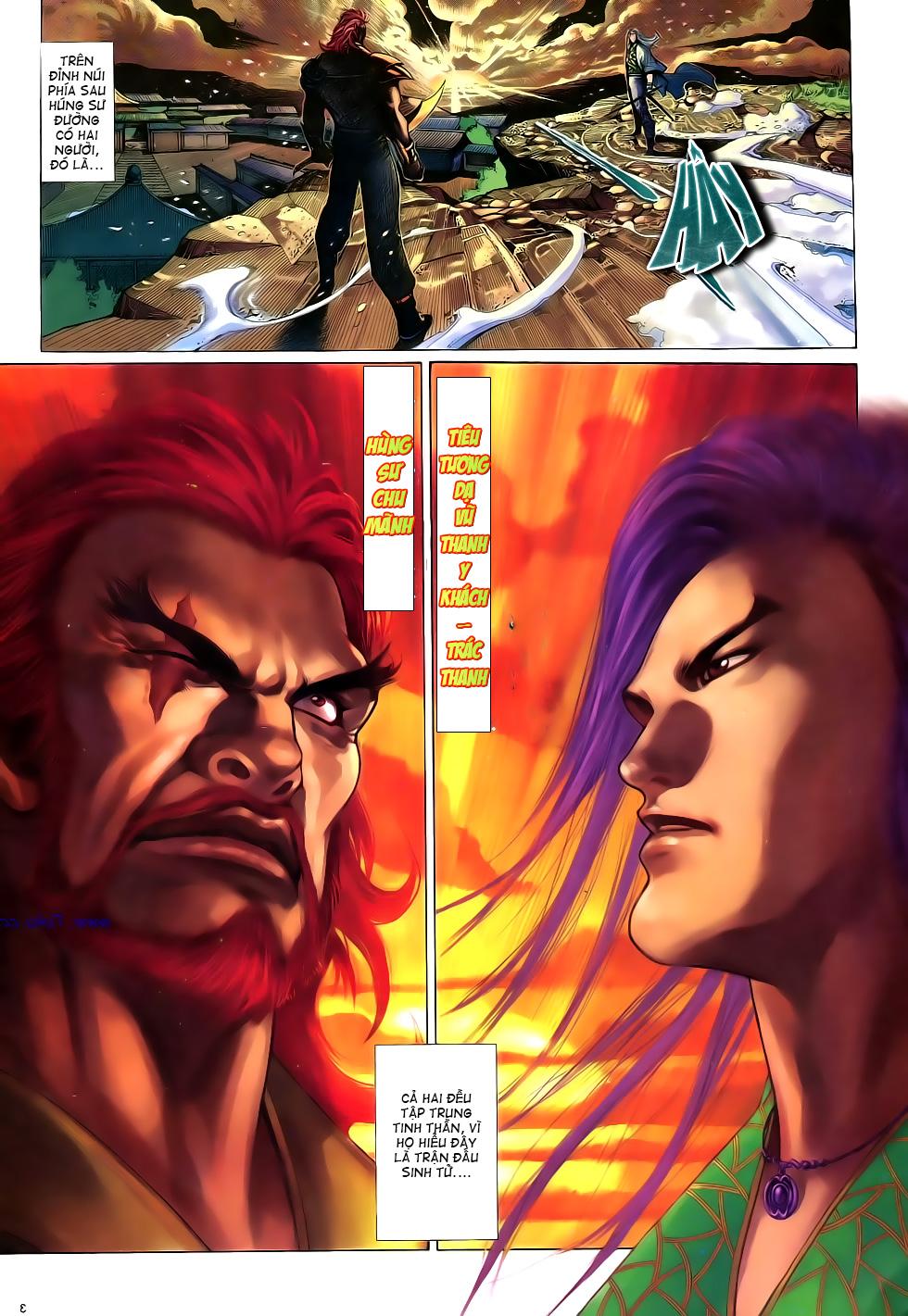 Anh hùng vô lệ Chap 16: Kiếm túy sư cuồng bất lưu đấu  trang 4