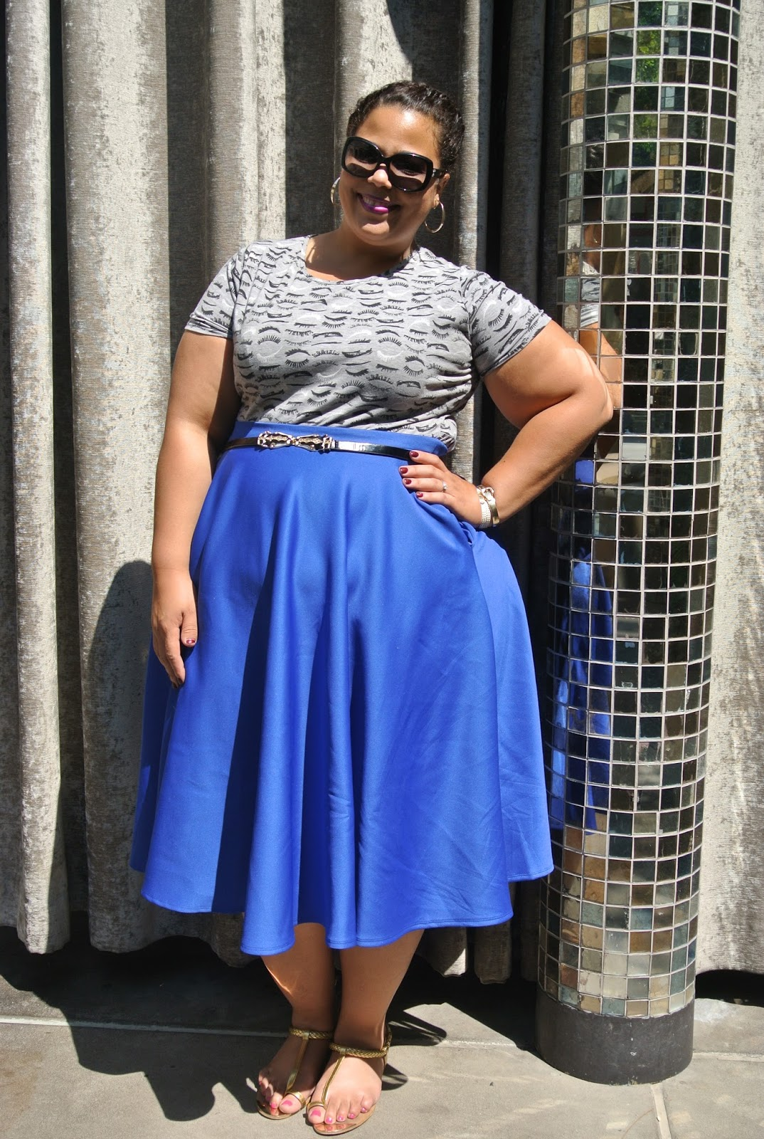 GwynnieBee Outfit Post Review & ASOS skirt