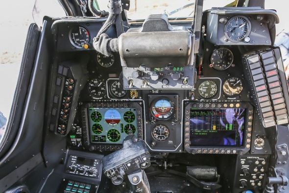 Mi-28NE Night Hunter cockpit
