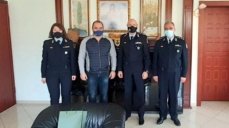 Επίσκεψη των Διοικητών της Αστυνομικής Ακαδημίας και της Σχολής Αστυφυλάκων στο Διδυμότειχο