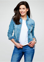 Geacă denim, design Maite Kelly bonprix (bonprix)