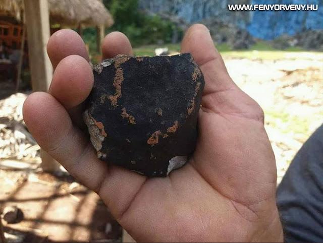 Meteorit csapódhatott be egy kubai városba