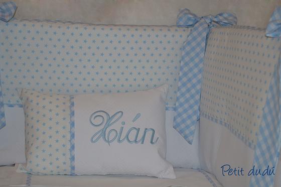Petitdudu ropa sacos y complementos de beb chichonera y accesorios para cuna ni o - Chichoneras y edredones para cunas ...