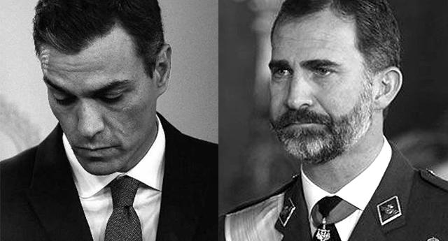El rey Felipe VI no propone candidato a la investidura y abriendo el camino a nuevas elecciones