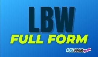 lbw-full-form