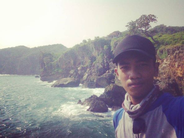 rock fishing, rockfishing karangan