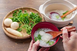 membuat bubur sederhana praktis enak