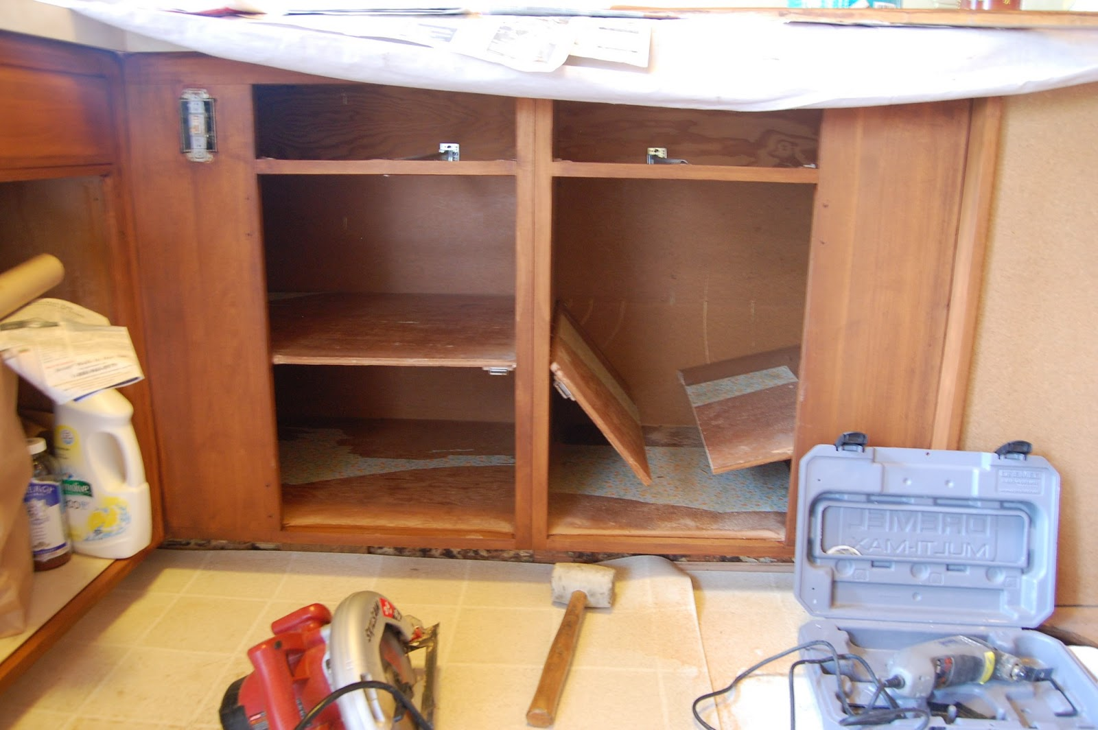 The Never Ending Reno Project Blind Corner Cabinet Inserts