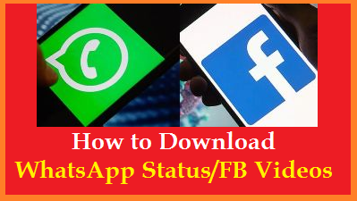 Know here how to Download WhatsApp Status Images Videos to our Phone Gallary/ Device. Download Facebook Videos to our Phone gallary. You can Download twitter videos to your phone easily. If you like someones WhatsApp Status Video, want to download it, know the Process here how-to-download-facebook-twitter-whatsapp-status-videos-phone-gallary