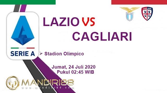 Prediksi Lazio Vs Cagliari, Jumat 24 Juli 2020 Pukul 02.45 WIB @ RCTI