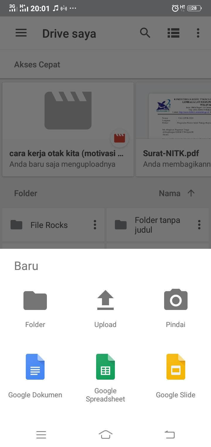 Lihat Cara Memasukkan Data Ke Google Drive paling mudah