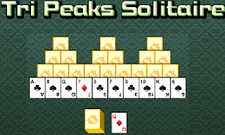 Tri Peaks Solitaire Card Game