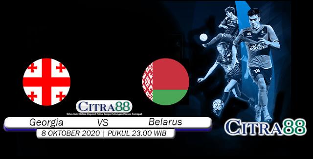 Prediksi Bola Georgia vs Belarus 08 Oktober 2020