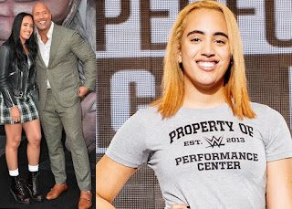 Dwayne 'The Rock' Johnson's daughter Simone Johnson, 18, signs with WWE to become a wrestler