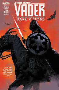 Cover shows Darth Vader with lightsaber mounted on a horse like creature.