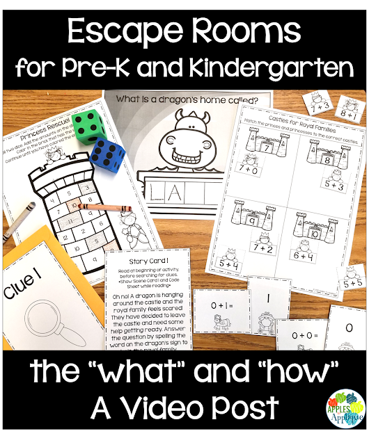 "Escape Rooms for Pre-K and Kindergarten: The ""What"" and ""How"" 