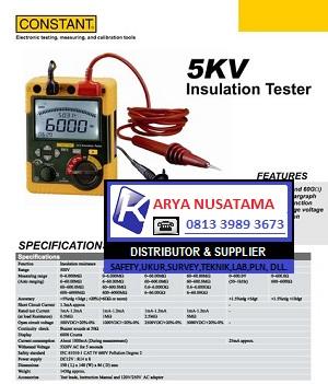 Jual Constan 5 KV Megger Digital Insulation di Malang