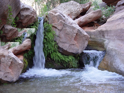 Plateau Waterfall, Shock Absorbing Lanyard Fall Distance
