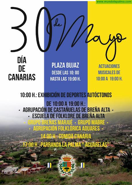 Música, Tradición y Gastronomía se unen para celebrar el Día de Canarias en Breña Alta