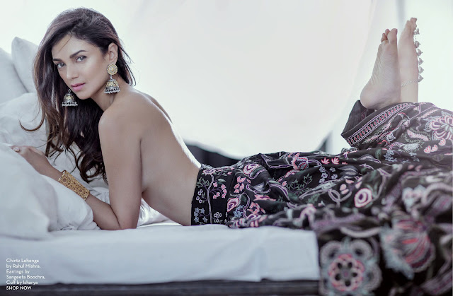 Aditi Rao Hydari's Topless Photo-shoot
