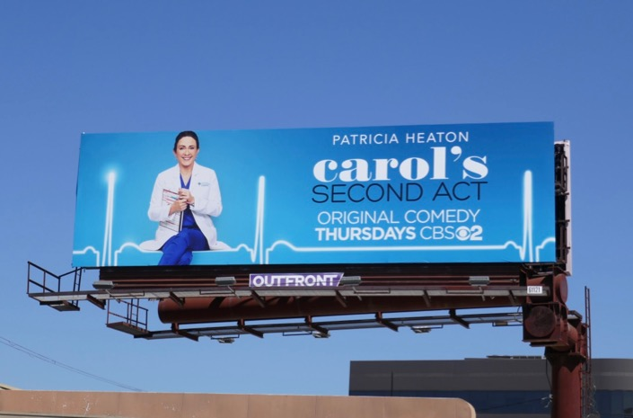 Carols Second Act season 1 billboard