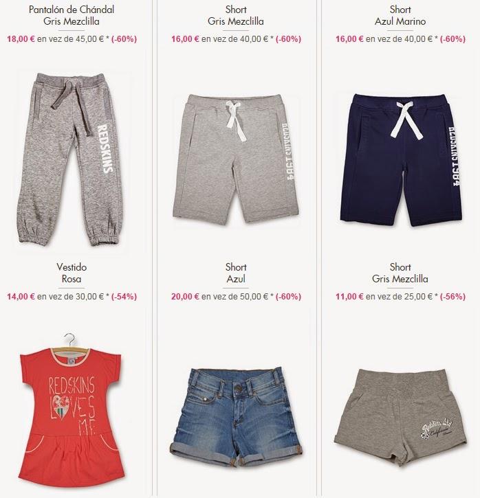 Pantalones, shorts y vestidos